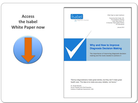 Isabel White Paper download