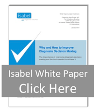Isabel diagnosis White Paper