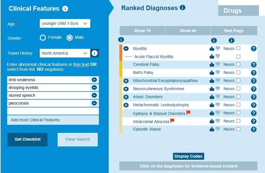 AFM-differential-diagnosis